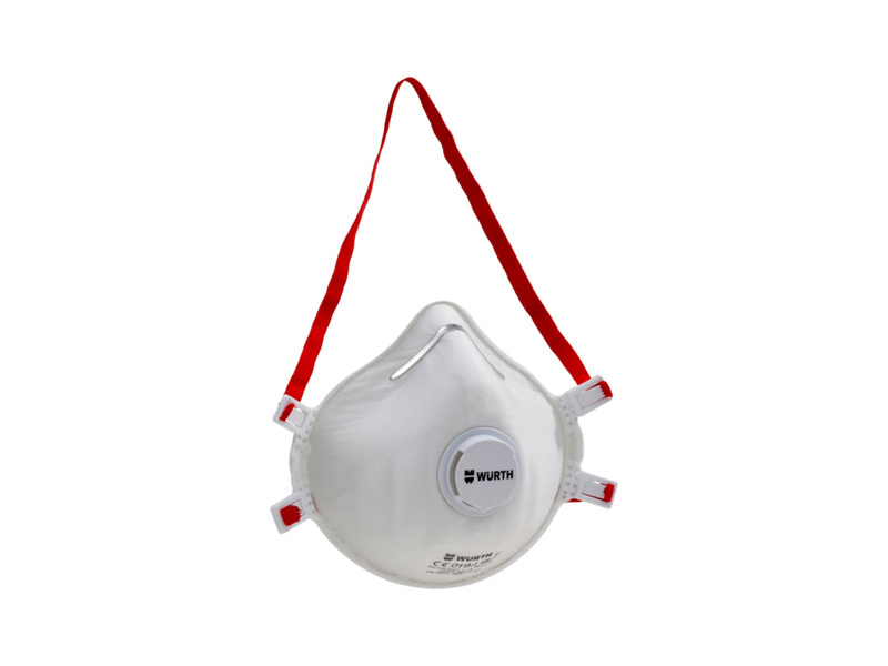 Wurth Cup-shaped mask CM 3000 V FFP3 NR D 0899110505. Dust, Particle And Virus Protection 1 Mask