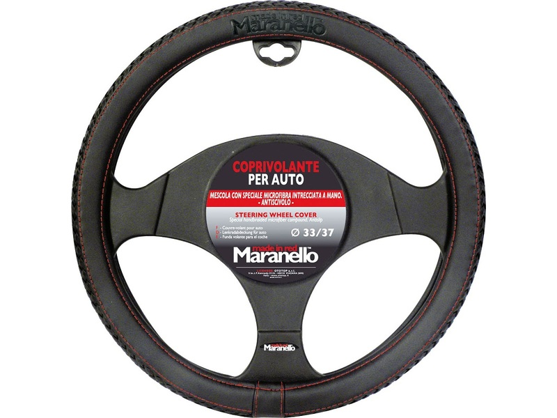 Steering Wheel Cover Maranello with Red Wire