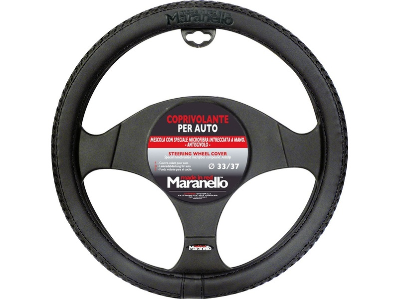 Steering Wheel Cover Maranello with Black Wire