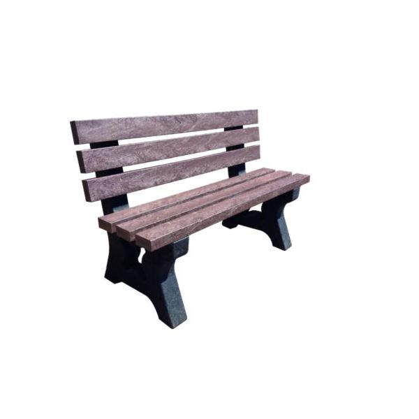 Square park seat