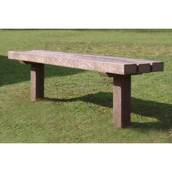 Square curtis bench