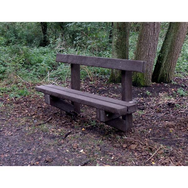 Square juniper seat