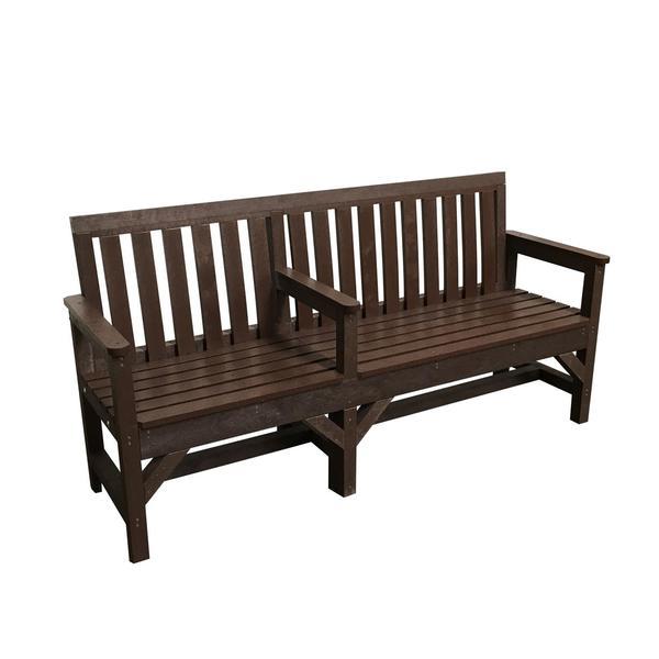 Square baleracric seat
