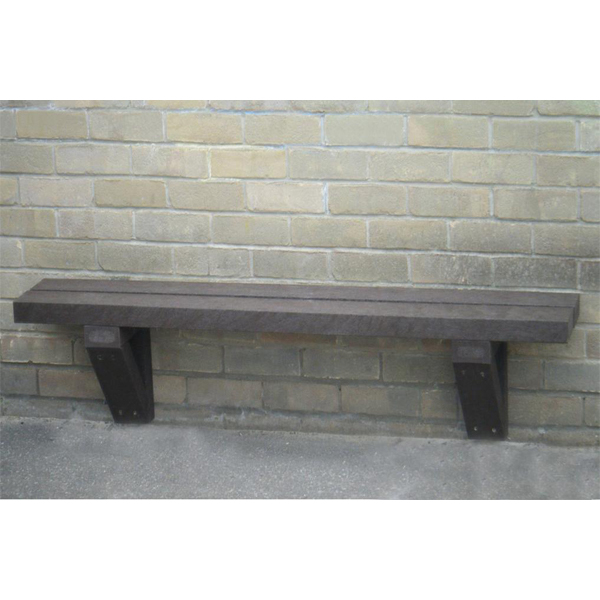 Square wall mounted bench