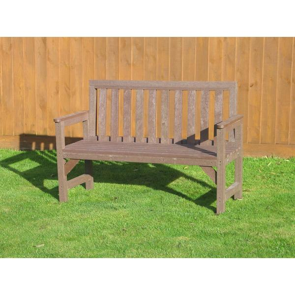 Square garden seat