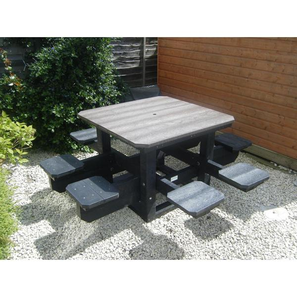 Square hindley picnic table