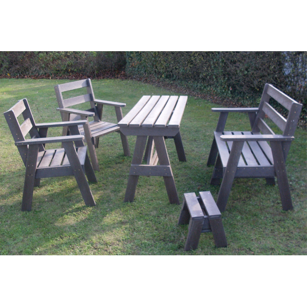 Square needham table and chair set