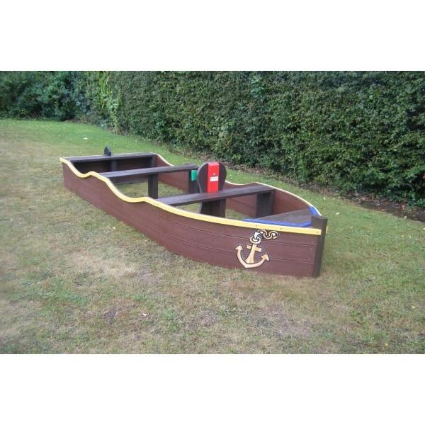 Square budget boat