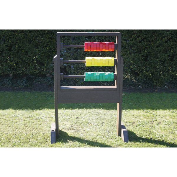 Square sunshine abacus