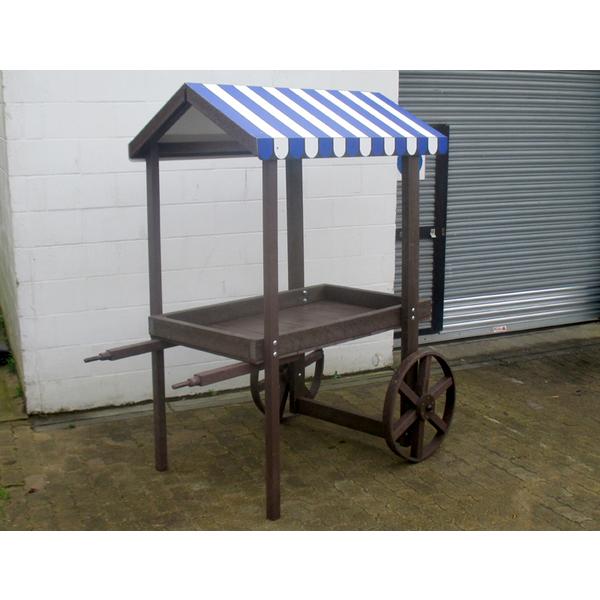 Square barrow stall internal use