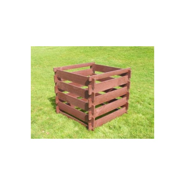 Square composting crate