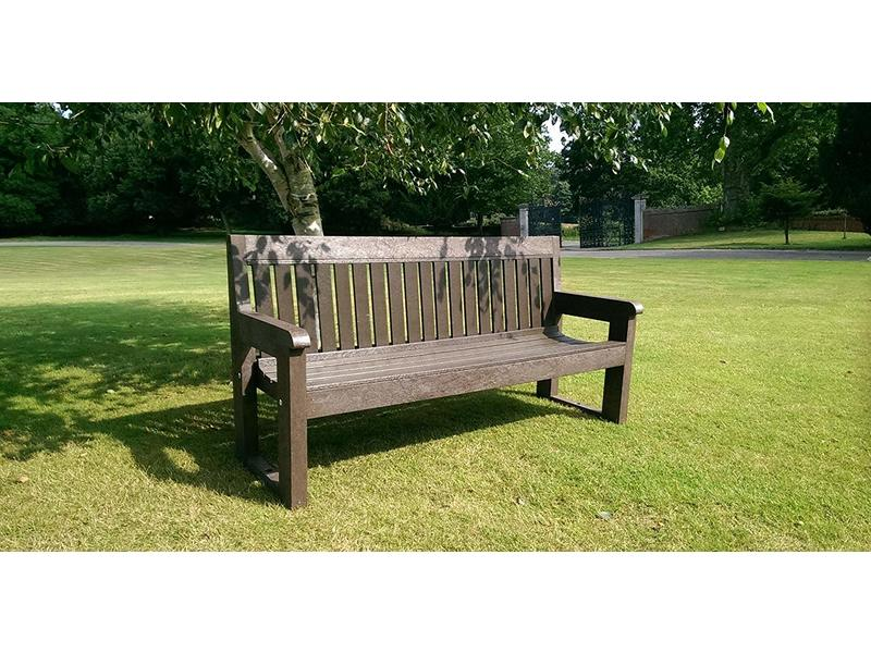Classic Bench (1500mm, Brown and Black)