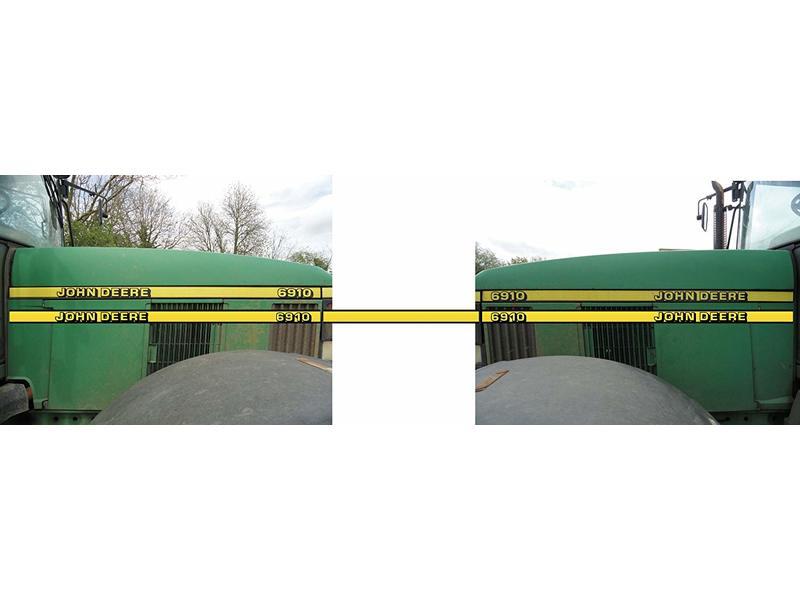John Deere 6910 Tractor Graphic Set