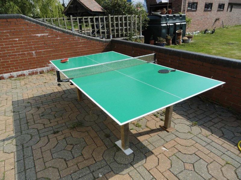 Table Tennis Table Top, Indoor/Outdoor