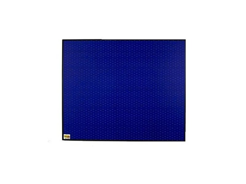 Post-it Adhesive Memo Notice Board- Framed, Navy Blue 120x90cm