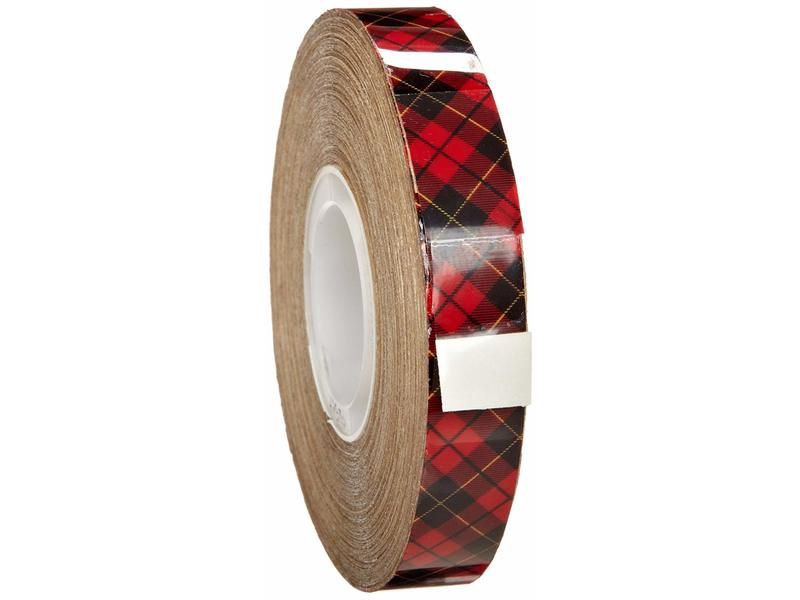 3M Scotch 969 ATG Tape: 1/2 in. x 18 yds. (Clear Adhesive on Tan Liner)